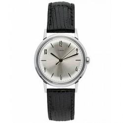 Timex Marlin 1960s Silver Sunray