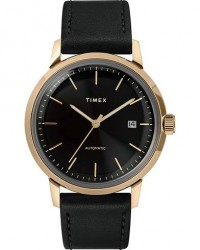Timex Marlin Automatic 40mm Black Dial men One size Sort