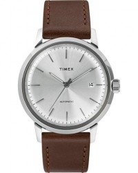 Timex Marlin Automatic 40mm Silver Dial men One size Brun