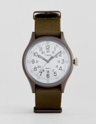 Timex MK1 Aluminium Watch In Green - Green