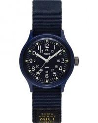 Timex MK1 Camper Resin 36 Military Grossgrain Blue men One size Blå