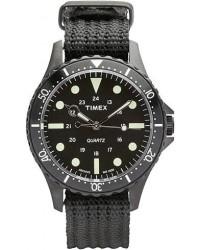 Timex Navi Harbor Black/Black Dial men One size Sort