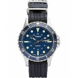 Timex Navi Harbor Steel/Blue Dial