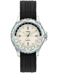 Timex Navi World Time Cream Dial men One size Sort