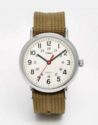 Timex Originals Weekender Watch With Nylon Strap - Green