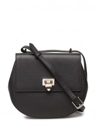 Tiny Round Satchel Bag W/Buckle