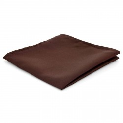 TND Basics Mørkebrun Enkel Lommeklud