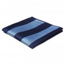 TND Basics Silkelommeklud med Marineblå og Blå Striber