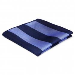 TND Basics Silkelommeklud med Marineblå og Pastelblå Striber
