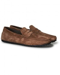Tod's City Gommino Brown Suede men UK6 - EU39,5 Brun