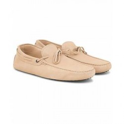 Tod's Laccetto Gommini Carshoe Sand Suede