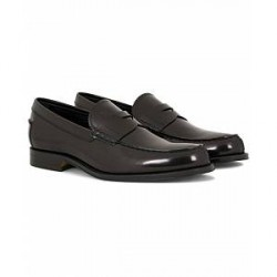 Tod's Mocassino Formale Loafer Black Shiny Calf