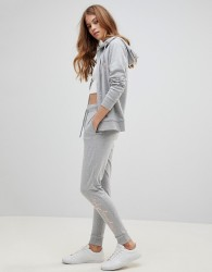 Tokyo Laundry Harmony Jogging Bottoms with Foil Logo - Grey