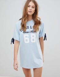 Tokyo Laundry Lexi T Shirt Dress - Blue