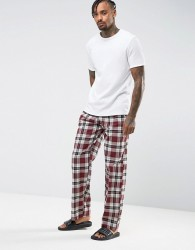 Tokyo Laundry Pyjama Check Trousers - Red