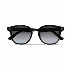 Tom Ford Frank FT0399 Sunglasses Black/Gradient Grey