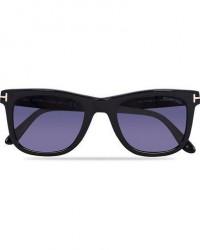 Tom Ford FT0336 Leo Sunglasses Black men One size Sort