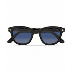 Tom Ford Garett FT0538 Sunglasses Shiny Black/Blue