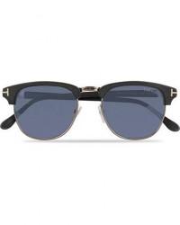 Tom Ford Henry FT0248 Sunglasses Matte Black/Blue men One size Sort