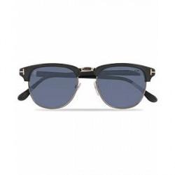 Tom Ford Henry FT0248 Sunglasses Matte Black/Blue