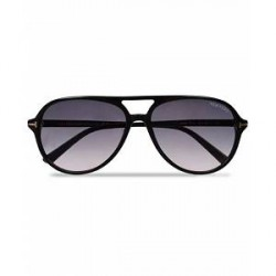 Tom Ford Jared FT0331 Sunglasses Black/Gradient Grey