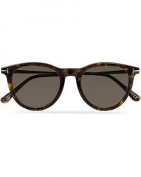 Tom Ford Kellan FT0626 Sunglasses Dark Havana/Smoke men One size Brun