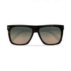 Tom Ford Morgan FT0513 Sunglasses Dark Havana/Gradient Blue