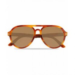 Tom Ford Rory FT0596 Sunglasses Yellow/Brown