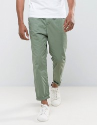 Tom Tailor Cropped Chino - Green