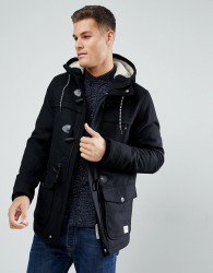 Tom Tailor Duffle Coat - Black