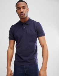 Tom Tailor Polo Shirt With Contrast Undercollar - Navy