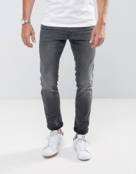 Tom Tailor Skinny Jeans In Black Wash - Black