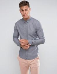 Tom Tailor Slim Fit Denim Shirt In Light Blue - Blue
