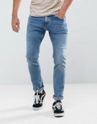 Tom Tailor Slim Jeans In Light Wash - Blue