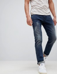 Tom Tailor Super Slim Jeans With Distressing - Blue