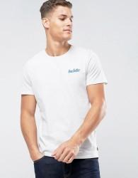 Tom Tailor T-Shirt With Chest Branding - White