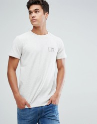 Tom Tailor T-Shirt With Chest Print In White - Grey