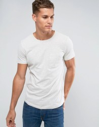 Tom Tailor T-Shirt With Pocket - Cream
