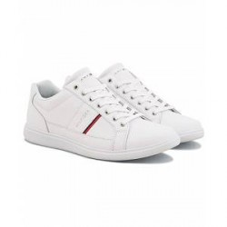 Tommy Hilfiger Danny Leather Sneaker White