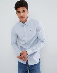 Tommy Hilfiger Denim Stripe Shirt Slim Fit in Blue - Blue