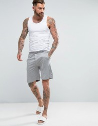 Tommy Hilfiger Icon Cotton Lounge Shorts Regular Fit in Grey Marl - Grey