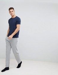 Tommy Hilfiger Icon Cotton Pant In Regular Fit - Grey