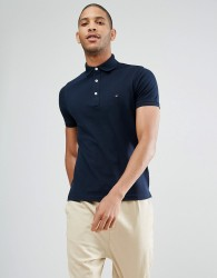 Tommy Hilfiger Slim Fit Polo In Navy - Navy