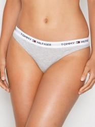Tommy Hilfiger Underwear Cotton Thong Iconic G-streng Grå Melange