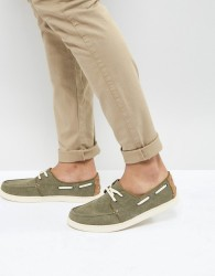 TOMS Culver Boat Shoes In Brown - Brown