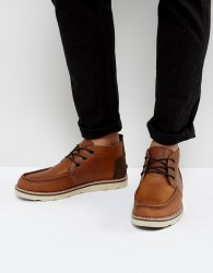TOMS Waterproof Leather Chukka Boots - Brown