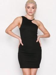 Topshop Chain Curve Mini Bodycon Dress Kropsnære kjoler Black