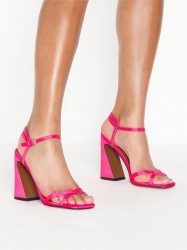 Topshop Redemption Pink Sandals High Heel