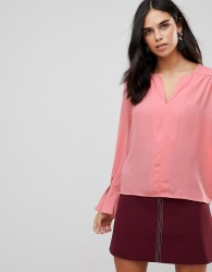 Traffic People Flute Sleeve Top - Pink