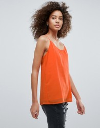 Traffic People Racer Back Cami Top - Orange